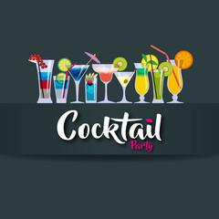 cocktail - party - verre - apéro - apéritif - boisson - alcool - bar