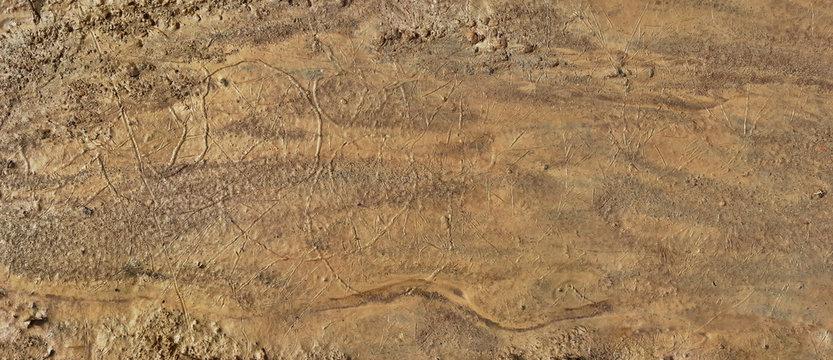 Artificial Martian Terrain Panorama