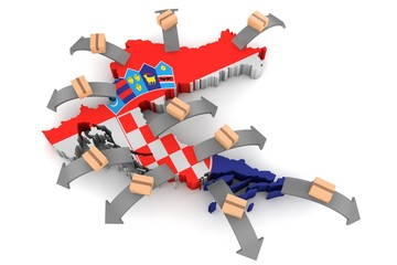 Exporting goods and services from Croatia