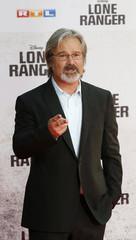 "Director Verbinski arrives for German premiere of film ""The Lone Ranger"" in Berlin"