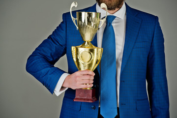 business success and reward, victory and winning, tender and prize