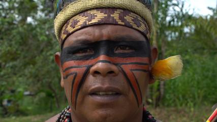Native Brazilian Indian Man