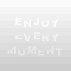 Motivating quotes. Vector white background. white