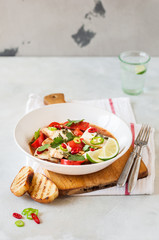 Tomato and Coconut Milk Fish Stew