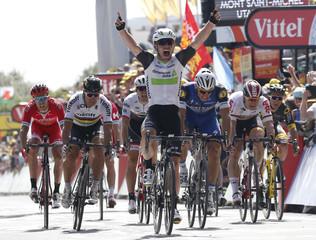 Cycling - Tour de France cycling race - Stage 1 from Mont-Saint-Michel to Utah Beach Sainte-Marie-du-Mont