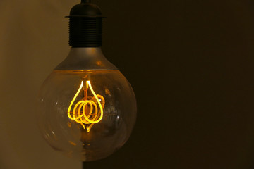 Electric bulb, retro styled