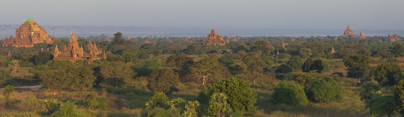 Epic panorama of Bagan Myanmar