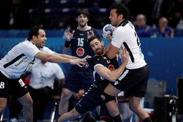 Men's Handball - Argentina v Egypt - 2017 Men's World Championship Main Round - Group D