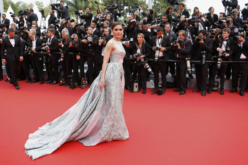 "Cast member Rebecca Hall poses on the red carpet as she arrive for the screening of the film ""The BFG"" (Le Bon Gros Geant) out of competition at the 69th Cannes Film Festival in Cannes"