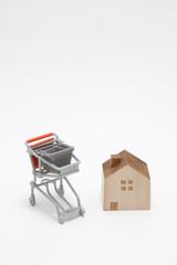 ショッピングカート 住宅
