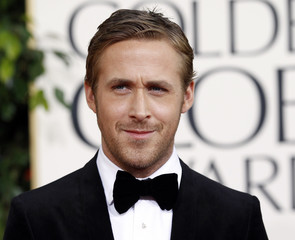 Ryan Gosling arrives at the 68th annual Golden Globe Awards in Beverly Hills