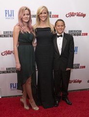 Actress and honoree Witherspoon poses with her daughter Ava Elizabeth and son Deacon Reese at the 29th Annual American Cinematheque Award ceremony in Los Angeles