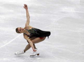 Canada's Rochette performs in women's short programme figure skating event at Vancouver 2010 Winter Olympics