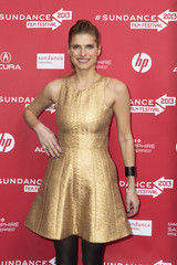 "Director Lake Bell arrives for the premiere of the film ""In A World"" during the Sundance Film Festival in Park City, Utah"