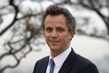 Arthur Sadoun, who will take over as CEO of advertising company Publicis Groupe SA on June 1, 2017, poses at the company's headquarters in Paris