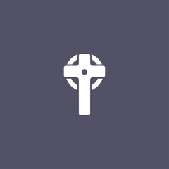 simple Cross icon