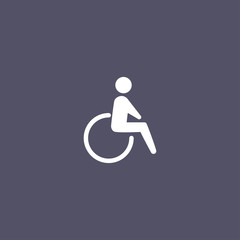 simple Disabled icon