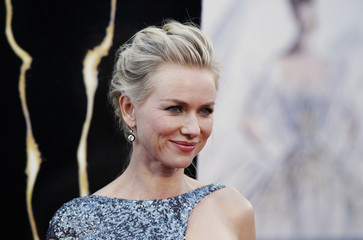 """Australian actress Naomi Watts, best actress nominee for her role in """"The Impossible"""", arrives at the 85th Academy Awards in Hollywood"""