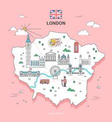 london Travel Landmark Collection