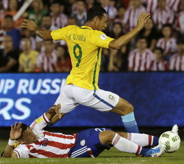 Football Soccer - Paraguay v Brazil - World Cup 2018 Qualifier
