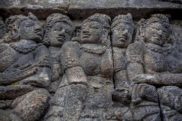 Borobudur Temple. Indonesia.