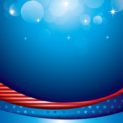 Happy Independence day United states of America design,Memorial day with bokeh background, 4th July