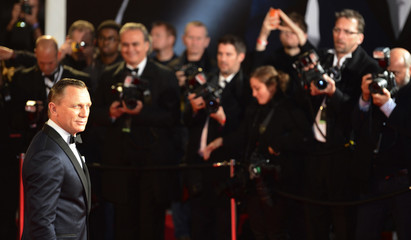 "Actor Daniel Craig arrives for the royal world premiere of the new 007 film ""Skyfall"" at the Royal Albert Hall in London"
