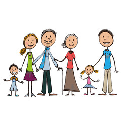 Family draw