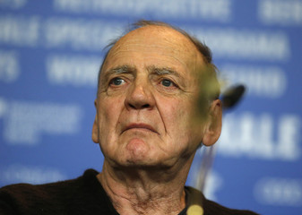 Actor Bruno Ganz attends a news conference to promote the movie 'The Party' at the 67th Berlinale International Film Festival in Berlin