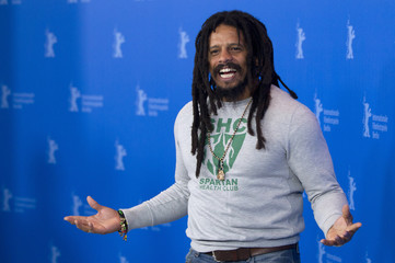 """Cast Member Marley poses during photocall to promote movie """"Marley"""" at Berlinale International Film Festival in Berlin"""