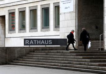 Town hall in Stuttgart
