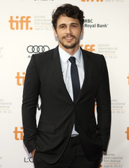 """Franco arrives on the red carpet for the gala presentation of the film """"Spring Breakers""""during the Toronto International Film Festival"""