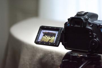 appareil photo film maker vidéo making off