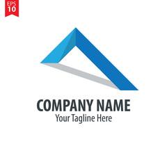 Roof Logo Vector Design Template Element