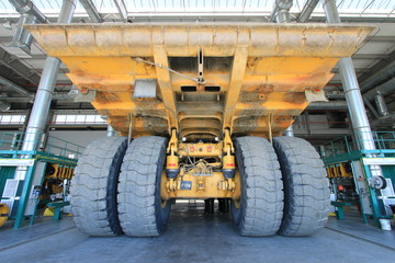 Large cars. Mining operations. career.