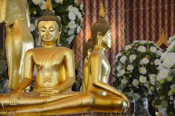 Wat Chanasongkhram Temple in Bangkok, Thailand