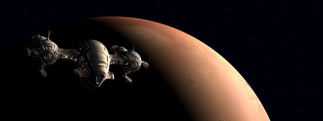 Die Erforschung des Mars