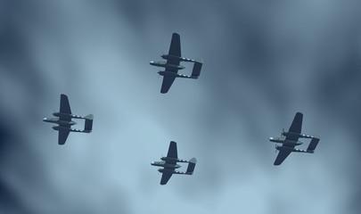 Amerikanische Nachtjäger aus dem Zweiten Weltkrieg