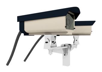 Überwachungskameras - Freisteller