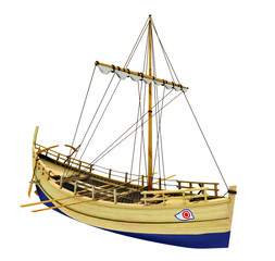 Antikes griechisches Handelsschiff - Freisteller