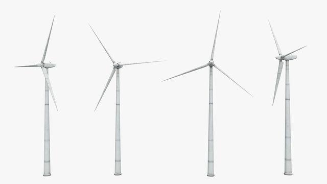 Windkraftanlage - Freisteller