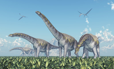Dinosaurier Argentinosaurus