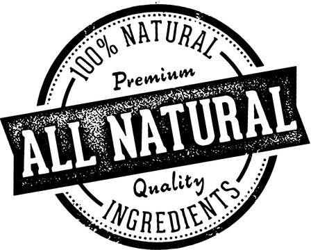 All Natural Food Product Label