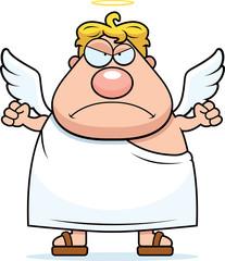 Cartoon Angel Angry
