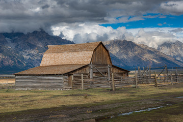 Mormon Row Historic in Grand Teton