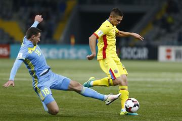Football Soccer - Kazakhstan v Romania - 2018 World Cup Qualifying European Zone
