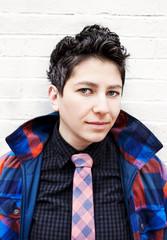 Portrait of a lesbian woman