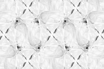 Diamond / Abstract background of diamond.