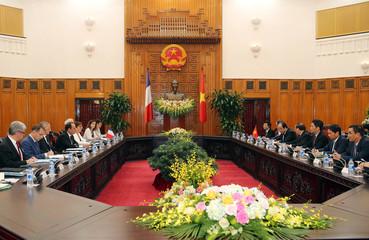 French President Francois Hollande visits Vietnam