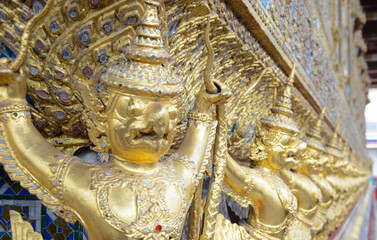 Grand Palace Temple in Bangkok, Thailand